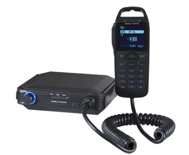 業務用IP無線システム「ボイスパケットトランシーバー」車載タイプ MPT-100