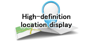 High-definition location display