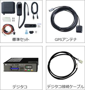 動態デジタコ連携セット(移動局)